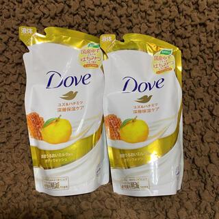 ユニリーバ(Unilever)のダヴ ボディウォッシュ 期間限定 ユズ&ハチミツ 2つセット(ボディソープ/石鹸)