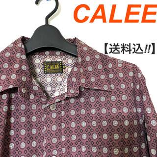 CALEE / キャリー メンズ シャツ GENERATIONS 数原龍友