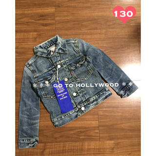 ゴートゥーハリウッド(GO TO HOLLYWOOD)の定価1.5万 新品タグ付き ゴートゥーハリウッド デニム ジャケット JK(ジャケット/上着)