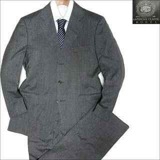 ジェイプレス(J.PRESS)のJ5126 美品 Jプレス ヘリンボーン スーツ グレー A5(セットアップ)