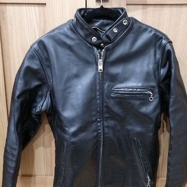 schott(ショット)のschott leather jacket メンズのジャケット/アウター(レザージャケット)の商品写真