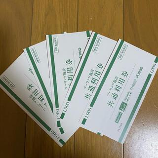 レッドバロン 共通利用券1000円×5(その他)