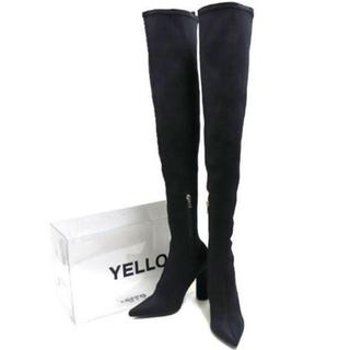 イエローブーツ(Yellow boots)のYELLO TOKYO BLACK LONG Mサイズ(ブーツ)