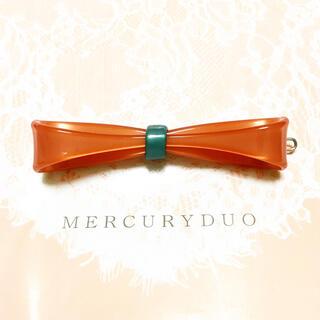 マーキュリーデュオ(MERCURYDUO)のマーキュリーデュオ MERCURYDUO  リボン ヘアピン バレッタ 新品(バレッタ/ヘアクリップ)