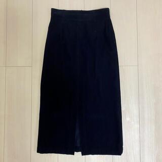 トゥモローランド(TOMORROWLAND)のGALERIE VIE コーデュロイタイトスカート(ひざ丈スカート)