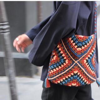アンユーズド(UNUSED)のstory mfg crotchet bag(ショルダーバッグ)