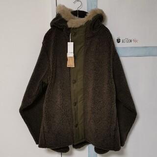 コモリ(COMOLI)のorSlow / オアスロウ フーデットジャケット FUR HOODED FLE(モッズコート)