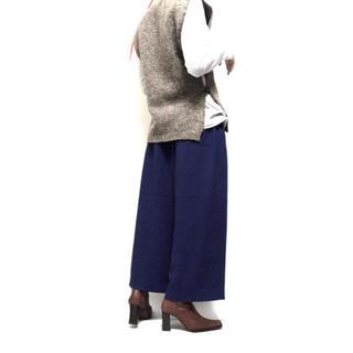 マメ(mame)のTARO HORIUCHI Royal-Blue Wide Pants(カジュアルパンツ)