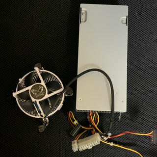 エイサー(Acer)のAcer 220w電源 サイズ CPUクーラー(PCパーツ)