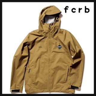 エフシーアールビー(F.C.R.B.)のfcrb FC real bristol rain jacket ベージュ XL(マウンテンパーカー)