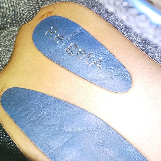 Re:getA(リゲッタ)の紐靴  紺色 レディースの靴/シューズ(ローファー/革靴)の商品写真
