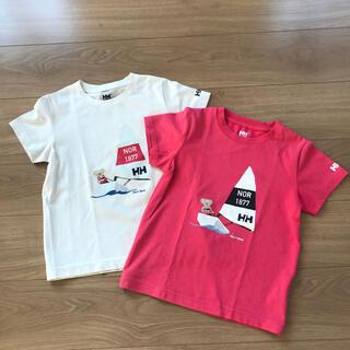 ヘリーハンセン(HELLY HANSEN)のヘリーハンセン キッズ130 ベアTシャツ2枚セット(Tシャツ/カットソー)