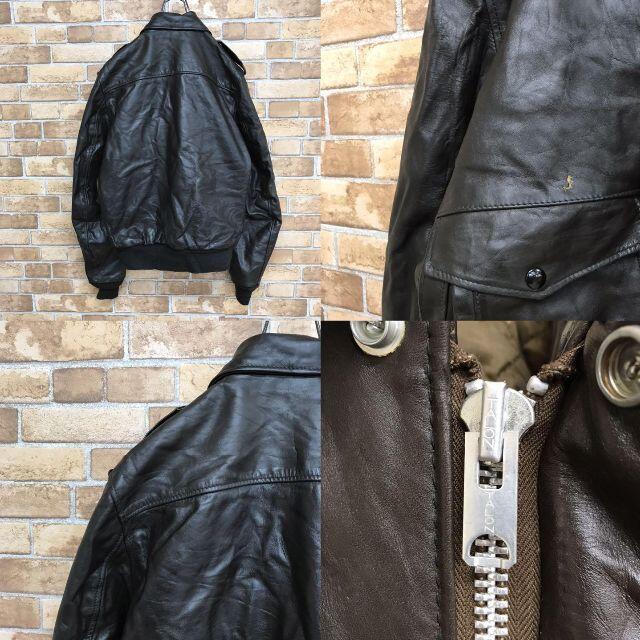 schott(ショット)の【ショット】usa製 schott I.S.674.M.S レザージャケット メンズのジャケット/アウター(レザージャケット)の商品写真