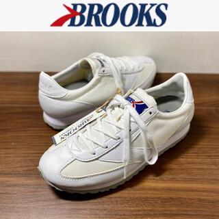 ブルックス(Brooks)のBROOKS ヘリテージ ヴァンガード WHITE レディース スニーカー 新品(スニーカー)