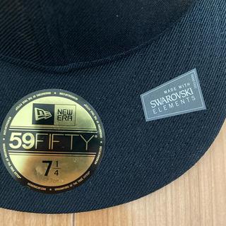 ニューエラー(NEW ERA)のnew era ニューエラ スワロフスキー コラボ cap キャップ 帽子(キャップ)