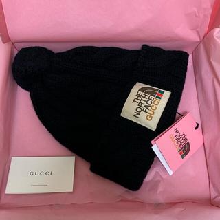 グッチ(Gucci)のThe North Face x Gucci ニット帽(ニット帽/ビーニー)
