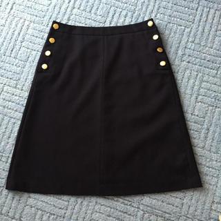 ロペピクニック(Rope' Picnic)のロペピクニック ネイビースカート(ひざ丈スカート)