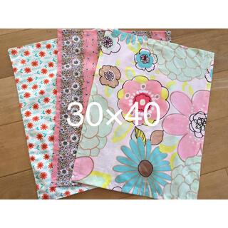 ランチョンマット 30×40 ハンドメイド 花柄 北欧 ピンク 女の子 入学(外出用品)