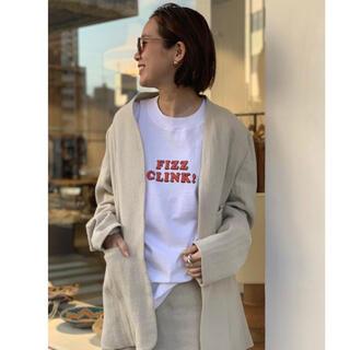 トゥデイフル(TODAYFUL)のFlZZ CLINK T-Shirts フィズクリンクTシャツ ホワイト 赤ロゴ(Tシャツ/カットソー(半袖/袖なし))