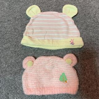 ニシマツヤ(西松屋)のベビー帽子 ニット帽(帽子)