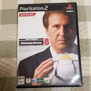 プレイステーション(PlayStation)のワールドサッカーウイニングイレブン8 PS2(その他)