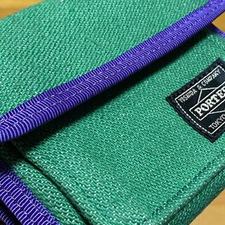ネクサスセブン(NEXUSVII)のNEXUSⅦ PORTER WALLET 財布 MADMAXX ネクサス7(折り財布)