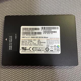サムスン(SAMSUNG)のSamsung SSD 2.5インチSATA 256GB使用時間4h(PCパーツ)