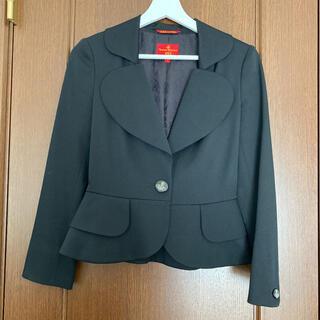 ヴィヴィアンウエストウッド(Vivienne Westwood)のまゆおさま専用ヴィヴィアンウェストウッド スーツ ハートジャケット(スーツ)