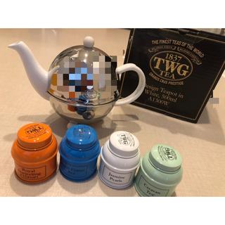 TWG ティーポット 紅茶缶 500ml(テーブル用品)