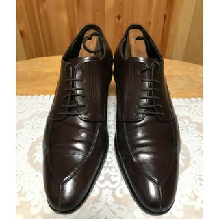 オリヒカ(ORIHICA)のORIHICA【除菌丸洗済】ビジネスシューズ25.5cm ブラウン茶 革靴紳士靴(ドレス/ビジネス)