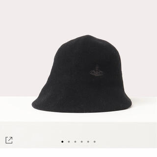 ヴィヴィアンウエストウッド(Vivienne Westwood)のVivienne Westwood 帽子 バスククロッシェ バケットハット(ハット)