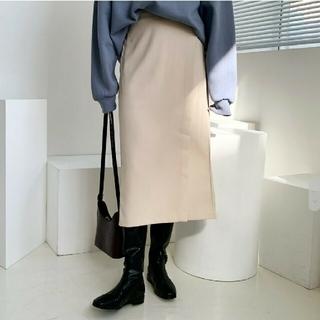 ディーホリック(dholic)の(美品)ディーホリック(DHOLIC )♡サイドボタンダイアゴナルスカート(ロングスカート)