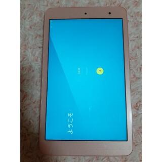キョウセラ(京セラ)のKYOCERA Qua tab QUA TAB 01 ピンク(タブレット)