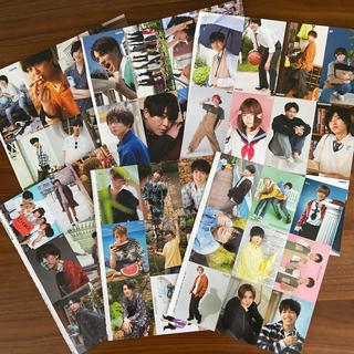 ジャニーズ(Johnny's)の Myojo厚紙生カード  6シート(アイドルグッズ)