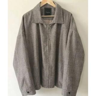 【新品未使用】unrelaxing ウールグレンチェックブルゾン定価33000円(ブルゾン)