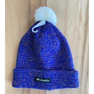 コロンビア(Columbia)のColumbia キッズ ニット帽 新品未使用(帽子)