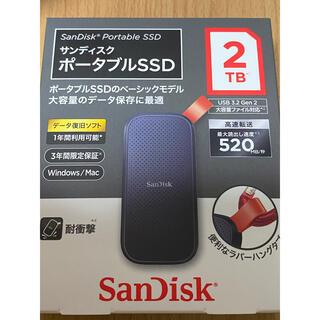 サンディスク(SanDisk)のsandisk ssd 2tb(PC周辺機器)