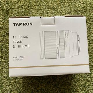 タムロン(TAMRON)のtamron 17-28(レンズ(ズーム))