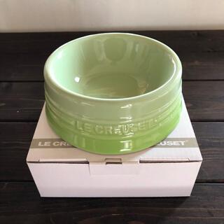 ルクルーゼ(LE CREUSET)の新品未使用 ル・クルーゼ ドッグボール Sサイズ フルーツグリーン(犬)