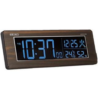 セイコー(SEIKO)のセイコー クロック DL210B 木目(置時計)