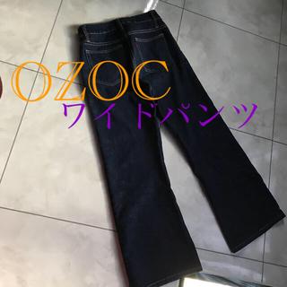 オゾック(OZOC)のオゾック バギー ワイドパンツ(デニム/ジーンズ)