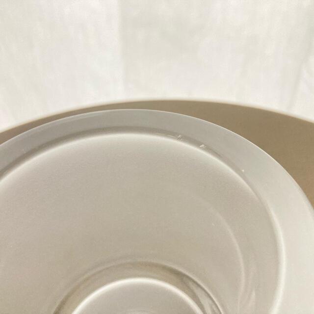 iittala(イッタラ)のkivi フロスト 廃盤 80mm 欠け2箇所あり コスメ/美容のリラクゼーション(キャンドル)の商品写真