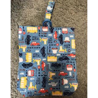 ご入園・ご入学準備に★シューズ袋★ハンドメイド(バッグ/レッスンバッグ)
