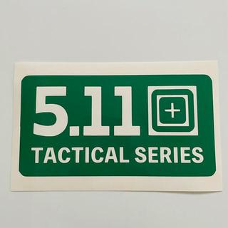 5.11 Tactical  ステッカー 5.11タクティカル BOXロゴ(その他)