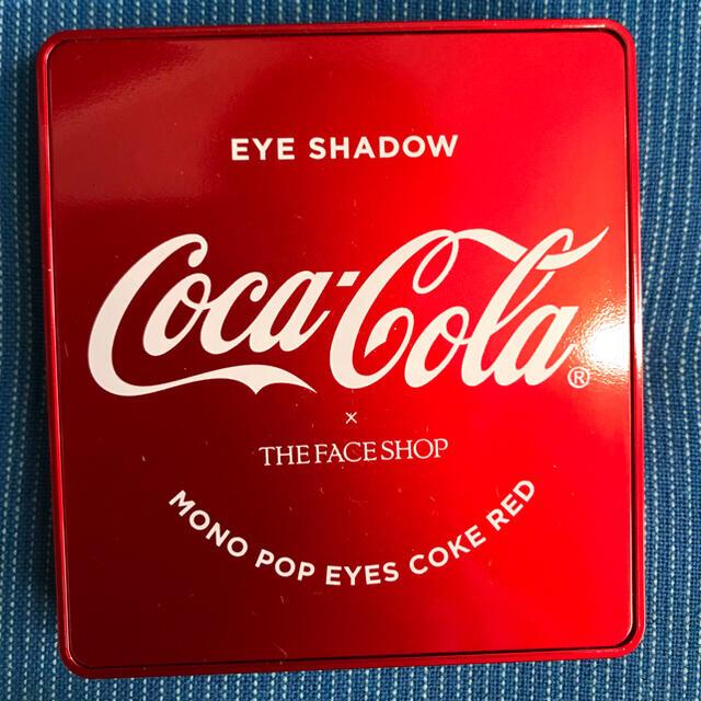 THE FACE SHOP(ザフェイスショップ)の 超特価❗️THE FACE SHOP コカ・コーラのコラボ アイシャドウ コスメ/美容のベースメイク/化粧品(アイシャドウ)の商品写真