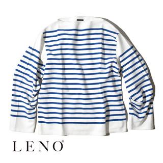 21SS 新品 LENO BASQUE SHIRT バスクシャツ(カットソー(長袖/七分))