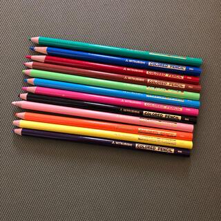 ミツビシ(三菱)の三菱の色鉛筆(12色)(色鉛筆)