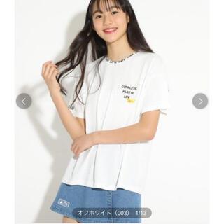 ピンクラテ(PINK-latte)の(新品)ピンクラテ    ビニポケモチーフTシャツ(Tシャツ/カットソー)