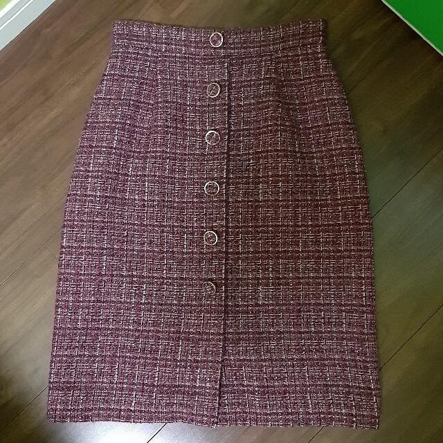 PROPORTION(プロポーション)のツイードスカート レディースのスカート(ひざ丈スカート)の商品写真