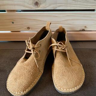 ノイエマルシェ(neue marche)のノイエマルシェ 革靴 レザーシューズ 24.5 ベージュ(ローファー/革靴)
